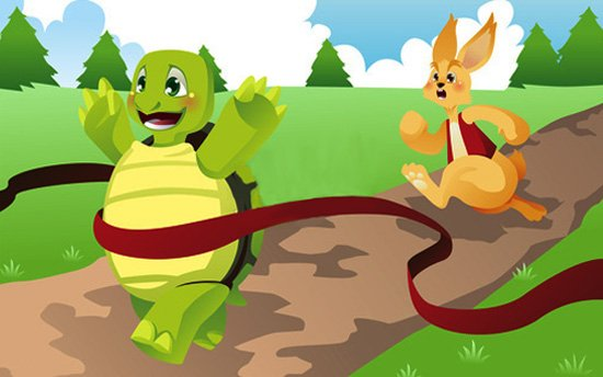 Why Is That In A Race Between A Turtle And The Rabbit, The Turtle Always Wins?